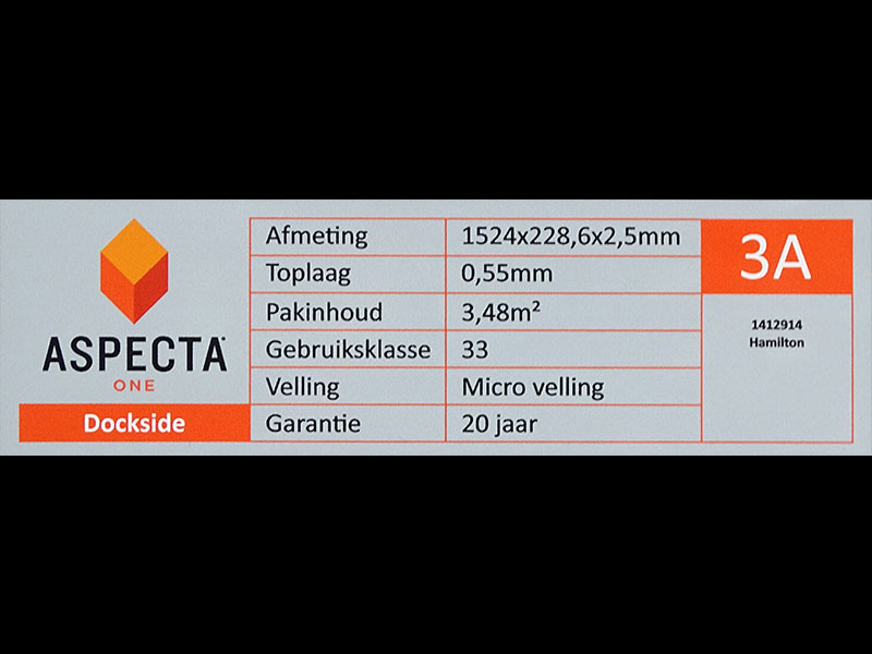 PVC Aspecta collectie Dockside Hamilton info