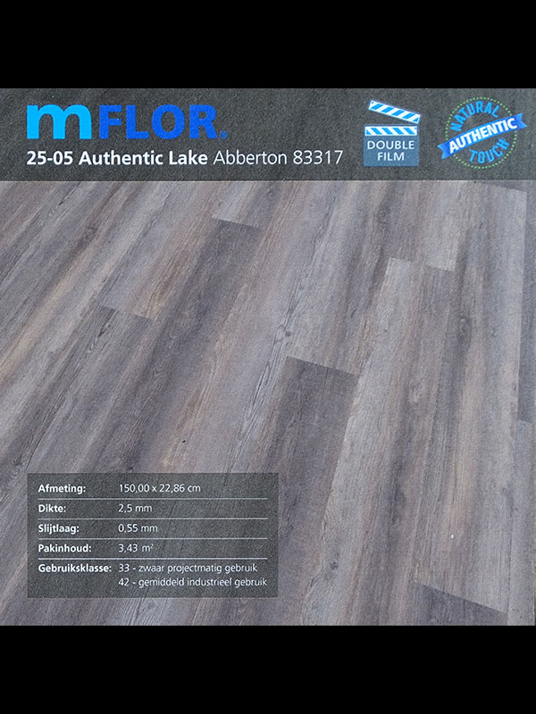 PVC van het merk mflor Authentic Lake info