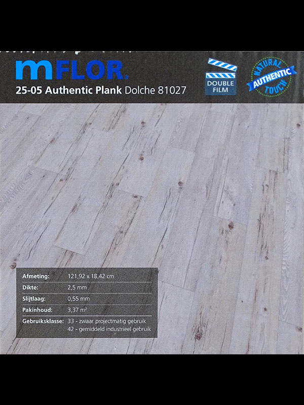 PVC mflor Authentic Plank info